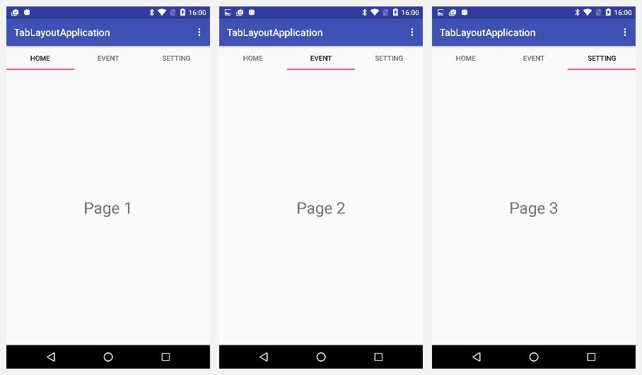 Android Studio2 0: TabLayoutを使ってみよう! - Takahiro Octopress Blog